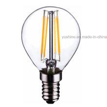 Bombilla de 4W LED Light G45 Filamento con CE