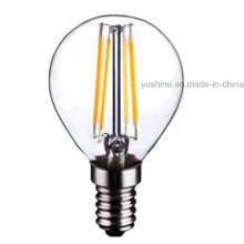 4W LED Light G45 Filament Bulb avec CE