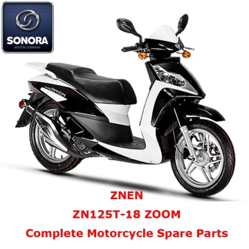 Znen ZN125T-18 ZOOM Scooter completo repuesto