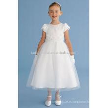 Para ser hechos en satén de alta calidad y Tulle, Baby Angel Child Dress