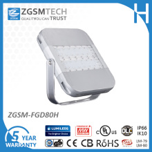 80W LED Flood Light with Dali and 1-10V Dimmable