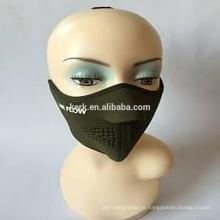 Protector de cara al aire libre Producto único para vender mascarillas de respiración media máscara de neopreno caliente