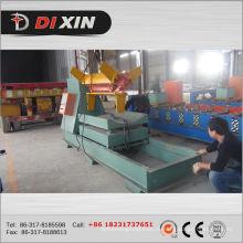 Metal de aço de 10 toneladas bobinas Decoiler