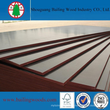 De Buena Calidad Melamina WBP Glue Film Faced Plywood