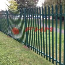 Cerca de paliçada de metal comercial para jardim