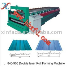 Double Layer Roofing Sheet Making Maschine