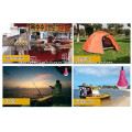 CE&Patent portable multifunctional solar LED camping light