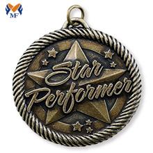 Certificado de teste para prêmio de medalha de bronze de adestramento