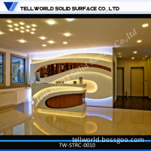 Artificial Stone SPA Reception Desk with High Quality
