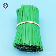 Plastic single wire tin tie for bundling purpose