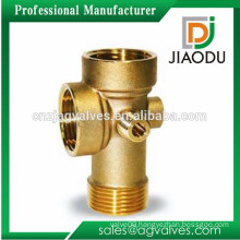 china manufacturer best selling bsp female threaded brass five way connector for pipes