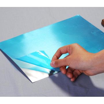 Schutzfolie für Aluminiumblech