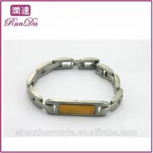 Alibaba heißesten Artikel Markenzeichen Gold Armreifen