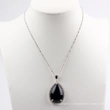 Серьги с бриллиантами и ожерельем