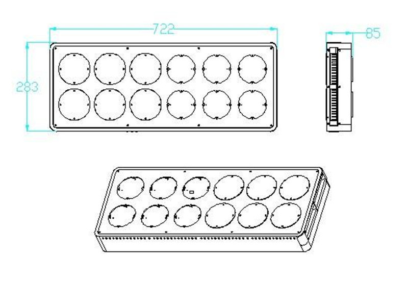 led grow light details