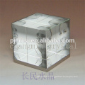 Crystal cube photo frame for gift & home decoration