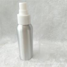 Botella de aluminio de plata del nuevo diseño 80ml 2017 con el espray nasal