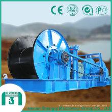 Treuil de levage basse avec grande capacité de 65 tonnes