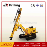 JK590 Crawler Hydraulic Quarry Blast Hole DTH Drilling Rig for sale