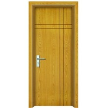 Flush wooden doors