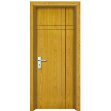 Puertas de madera al ras