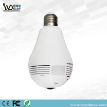 2.0MP 360 ° Panoramic Wireless Wifi Bulb IP kamara