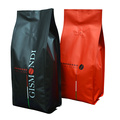 Quad Seal Coffee Packaging Bags