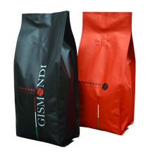 Quad Seal Coffee Packaging Bags