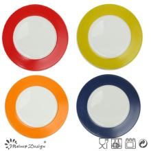 Plaque de cuisson vendue à chaud de 26,5 cm avec étiquetage