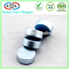 N35 customized shape strong zinc coating magnet
