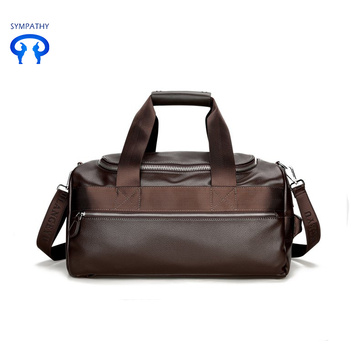 New pu men business bag for business trip