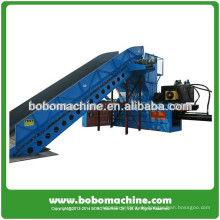 SPS-Steuerung Automatische horizontale Karton-Ballenpresse