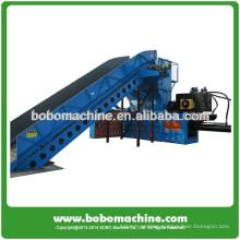 PLC Control Automatic Horizontal Cardboard Baling Machine