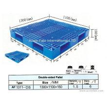Paletas de plástico logestic / paletas de acero / transporte