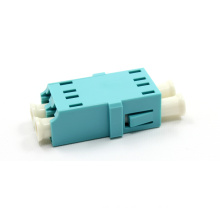 Aqua Fiber Optic Adapter LC Fiber Optic Adapter 0.2dB