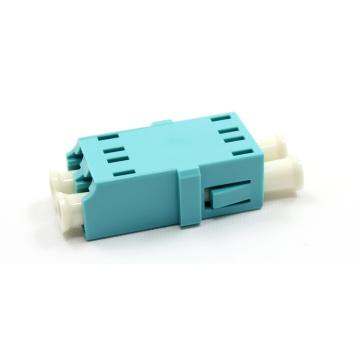 Aqua Fiber Optic Adapter LC Fiber Optic Adapter 0.2dB