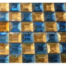Carrelage en mosaïque à miroir en verre diamant (HD046)