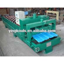 Máquina de aplanamiento de chapa de metal LS-1000-840, aplana la máquina de chapa de acero, rollo de chapa plana que forma la máquina