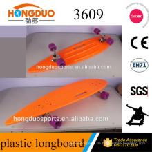 """36 * 9 Zoll Hand Skateboard mit 7 """"180 rollenden Stein LKW"""