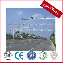 Stahl galvanisierte Autobahn Monitor Pole, Autobahn Verkehr Zeichen Pole