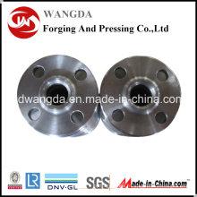 Raccord fileté de bride de pièce forgéee d'acier au carbone avec de haute qualité