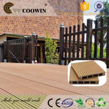 WPC Decking Flooring para Exterior sacada de madeira de madeira wpc barato decking board