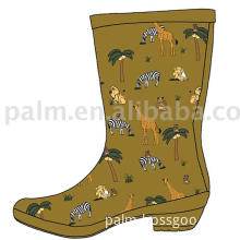Beautiful Women Rubber Boots WB08-RB001