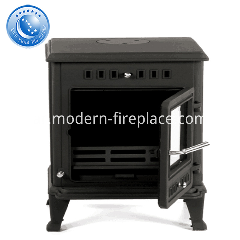 8KW 100KG Custom Cast Iron Wood Burning Stoves