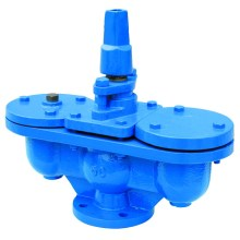 Flange Air Valve with Integral Isolating Valve