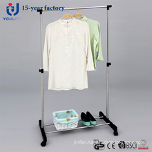 Single-Rod Clothes Hanger
