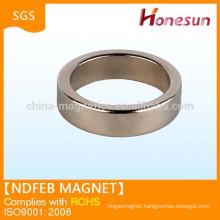 super strong neodymium ring magnet China alibaba