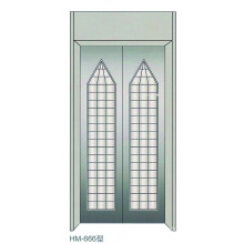 Paneles de la puerta del aterrizaje del elevador casero