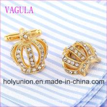 VAGULA Qualität Heiße Verkäufe Crown Gemelos Manschettenknöpfe (329)