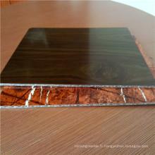 Panneaux composites en carton ondulé en aluminium épais de 4 mm